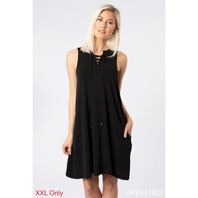 Bandana Babe Lace Up Dress