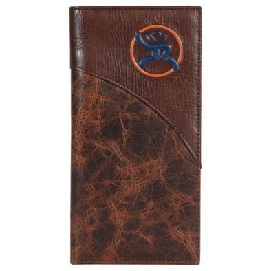 Roughy Rodeo Wallet Blue/Orange Logo