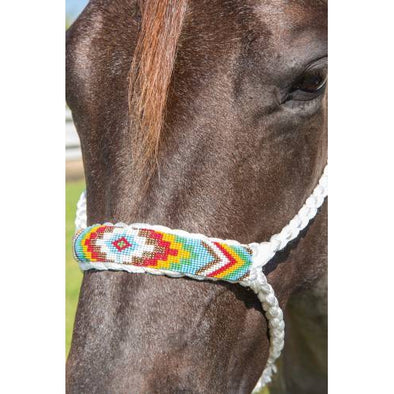 Professional's Choice Cowboy Braided Rope Halter 10' Lead