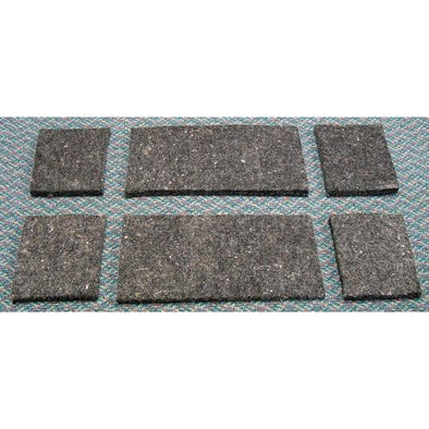 "Diamond Wool Pad Set of 6  1/2"" inserts for Pressure Relieft Pads"