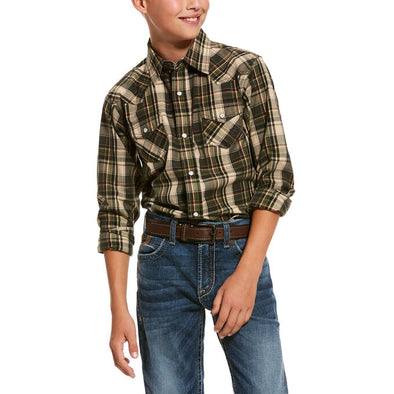 Ariat Boy's Kameron Retro Snap Shirt