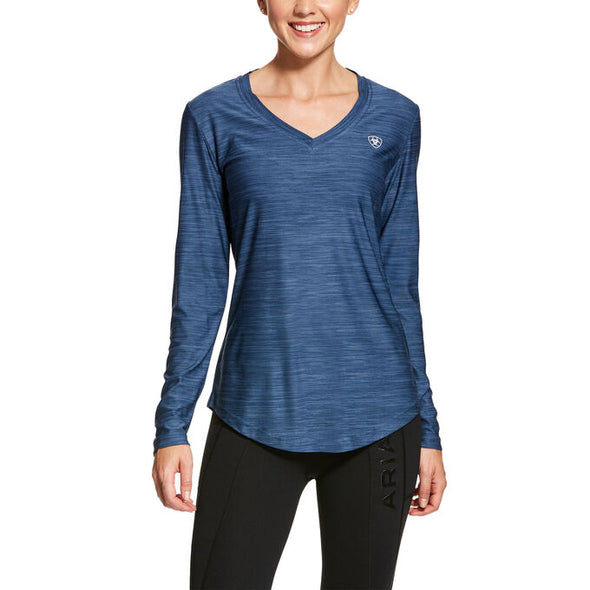 Ariat Women's Laguna LS Top - Lake Life