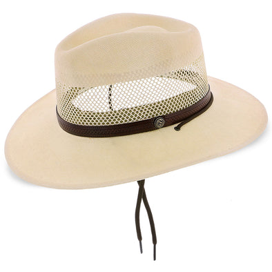 Stetson Panama Straw Hat - Lodge, Natural