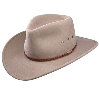 Stetson Western Felt Hat - Moab Eye Regular - Mushroom