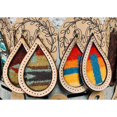 The Whole Herd - Pendleton Earrings