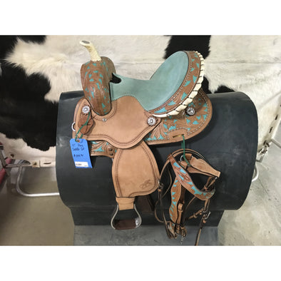 Pony Saddle w/Headstall and Breast Collar