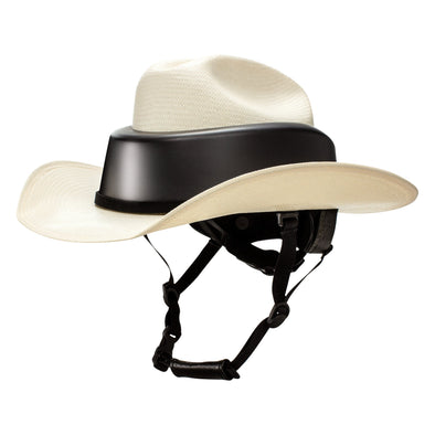 Resistol Ride Safe Straw Cowboy Hat - Natural