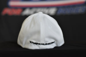 Hangry Man FlexFit Hat White