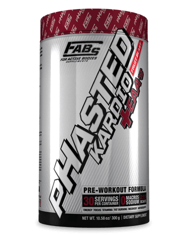pHasted Kardio +EAAs - Fruit Blast 30 Serv - FABs Supplements