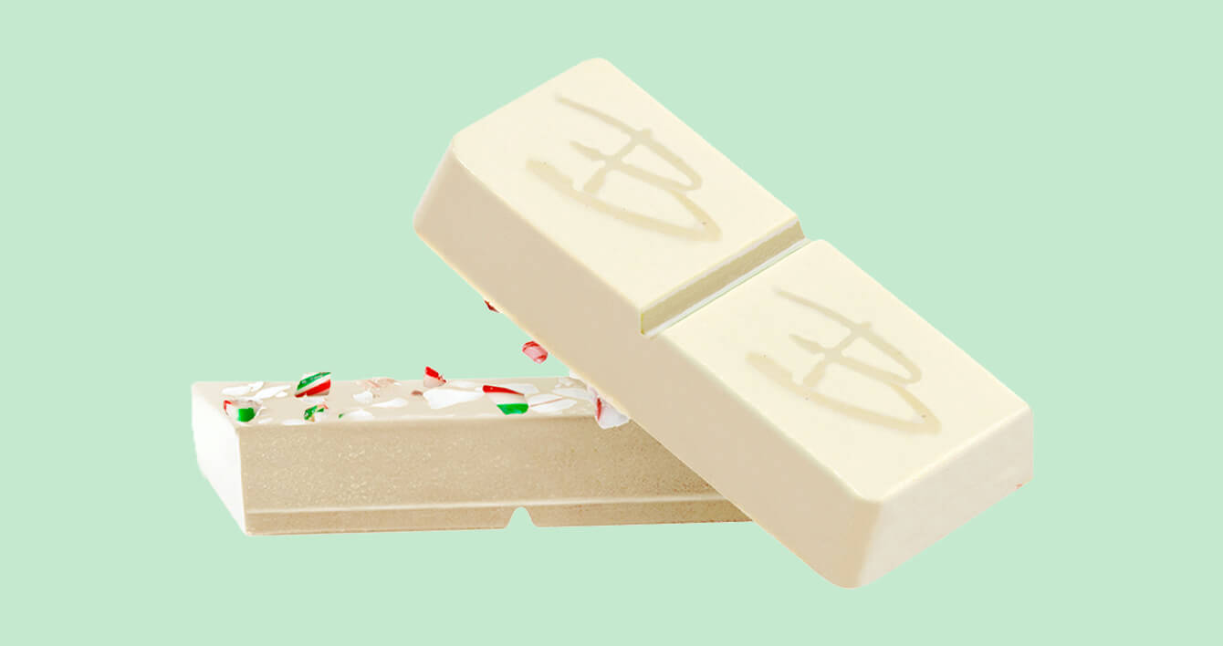 THC Candy Cane White Chocolate BHANG