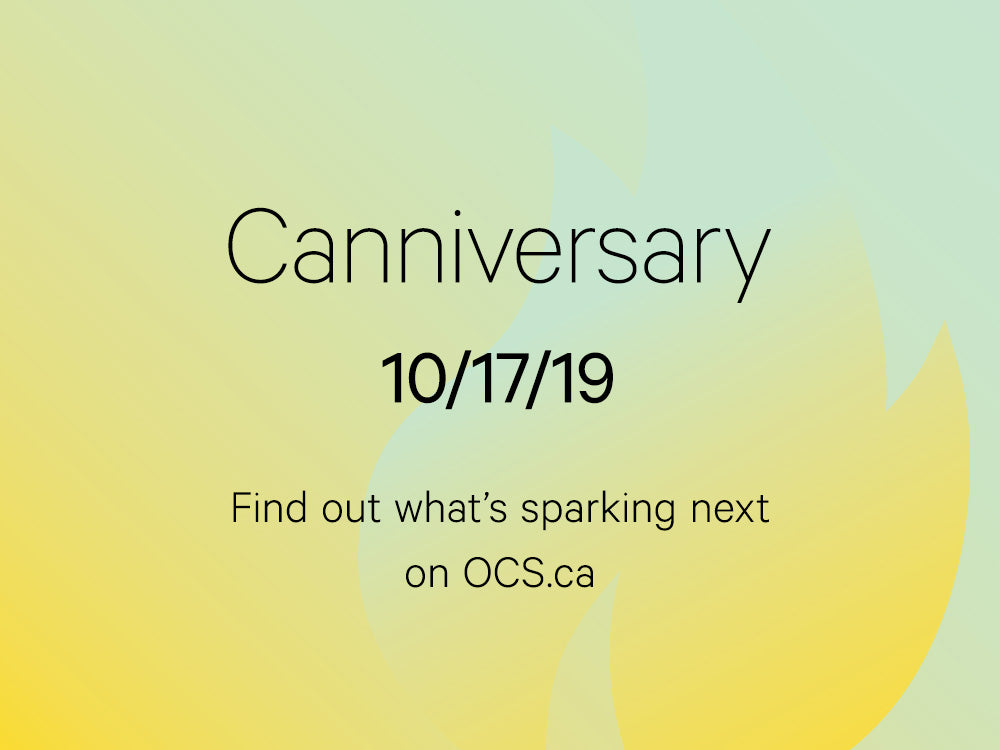 Canniversary - Coming 10/17/19