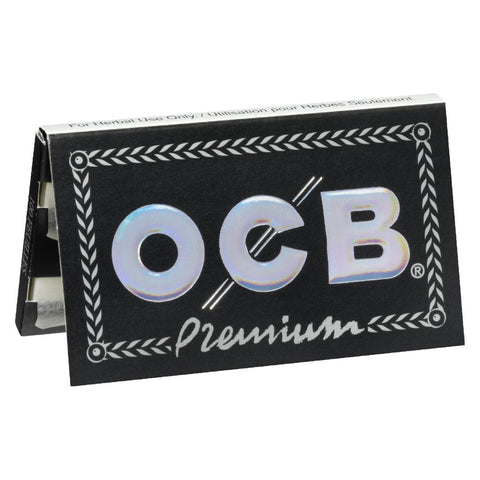 Photo Premium Black Double Rolling Papers