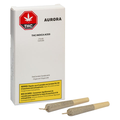 Photo THC Indica Aces Pre-Roll