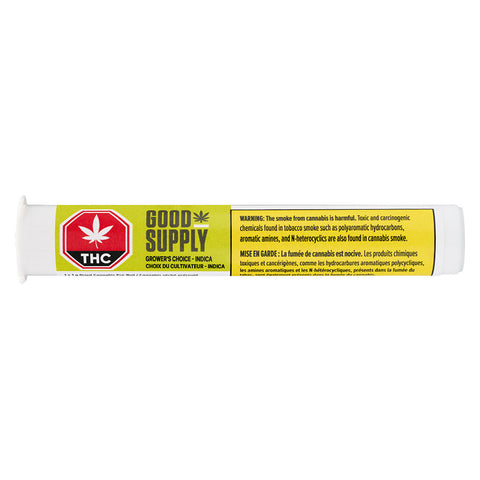 Photo Grower's Choice Indica Pre-Roll