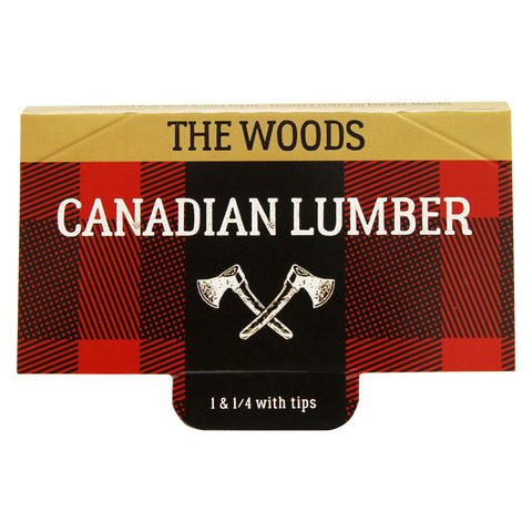 Photo Woods Unbleached Pure Wood Rolling Papers with Tips