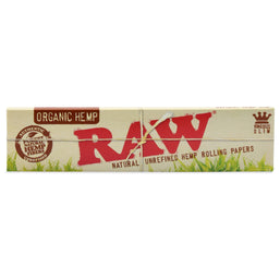 Photo Organic Hemp King Size Rolling Papers