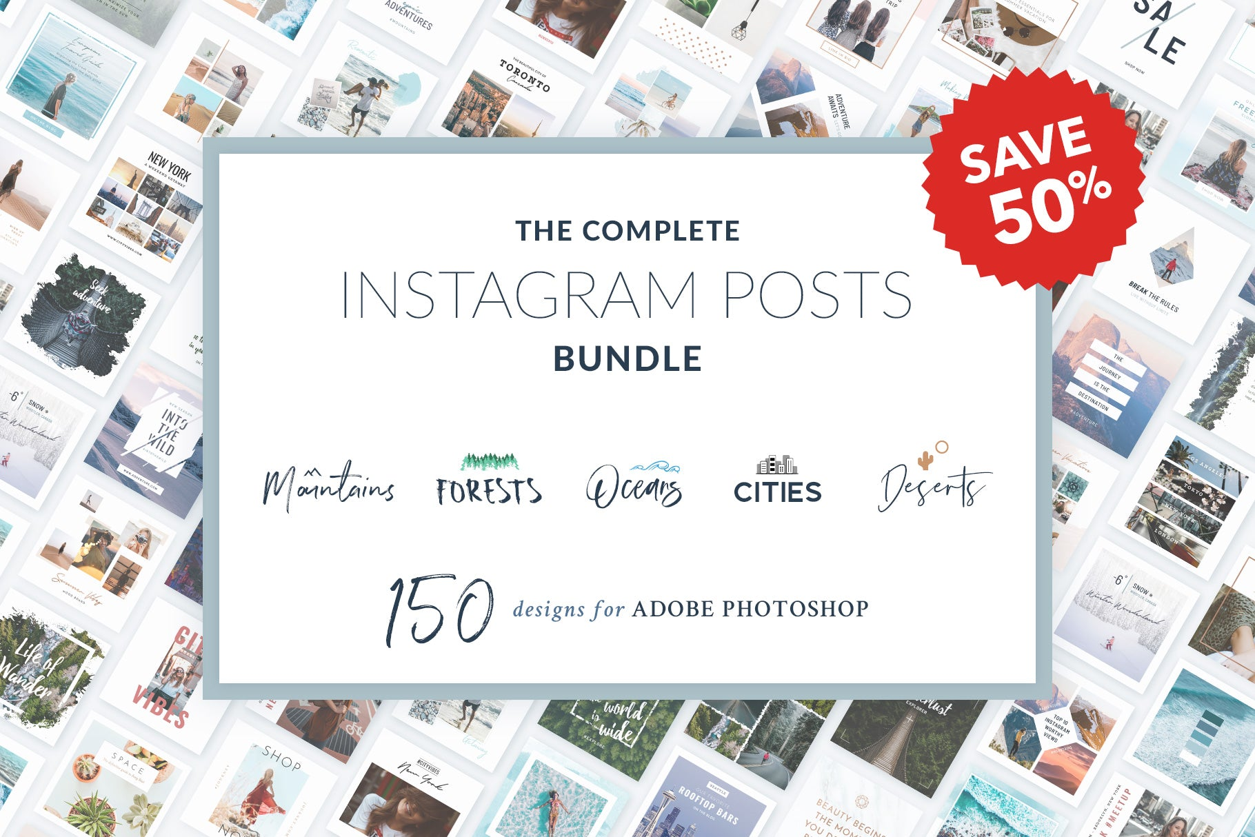 Instagram Posts Complete Bundle