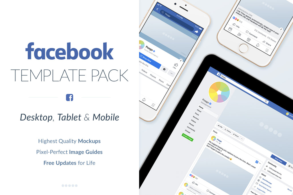 Facebook Social Media Template Pack