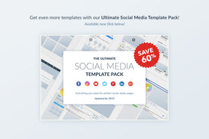 LinkedIn Social Media Template Pack