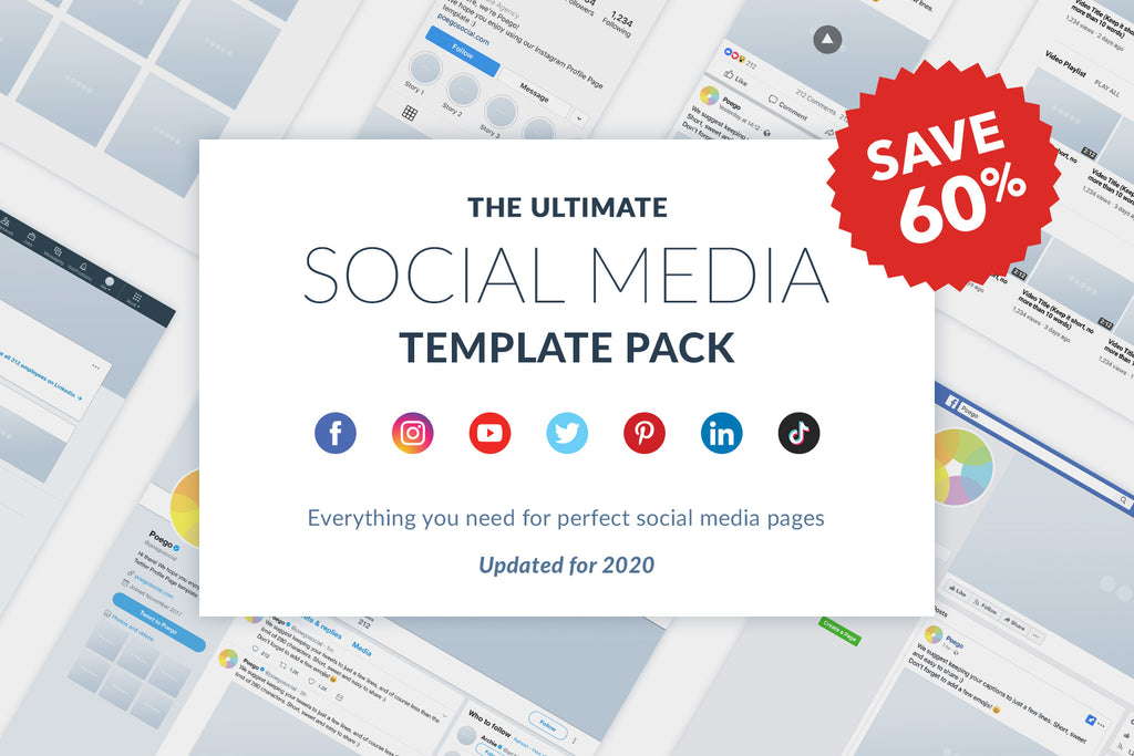 Ultimate Social Media Template Pack