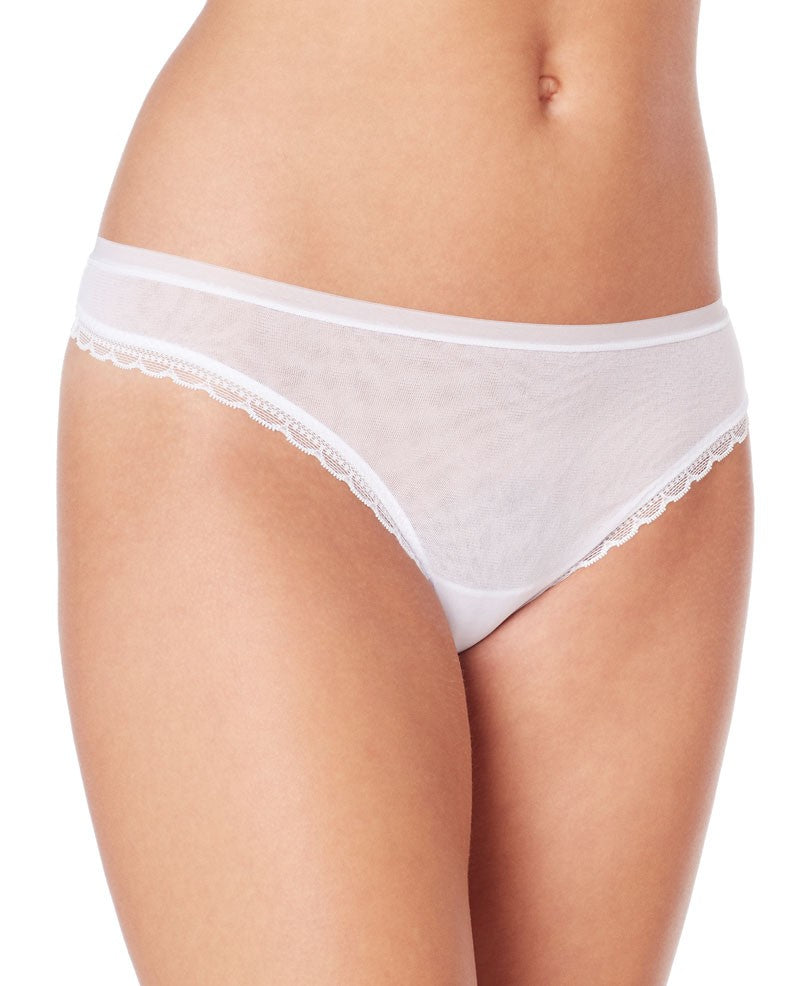 Next to Nothing Hip G Thong - White