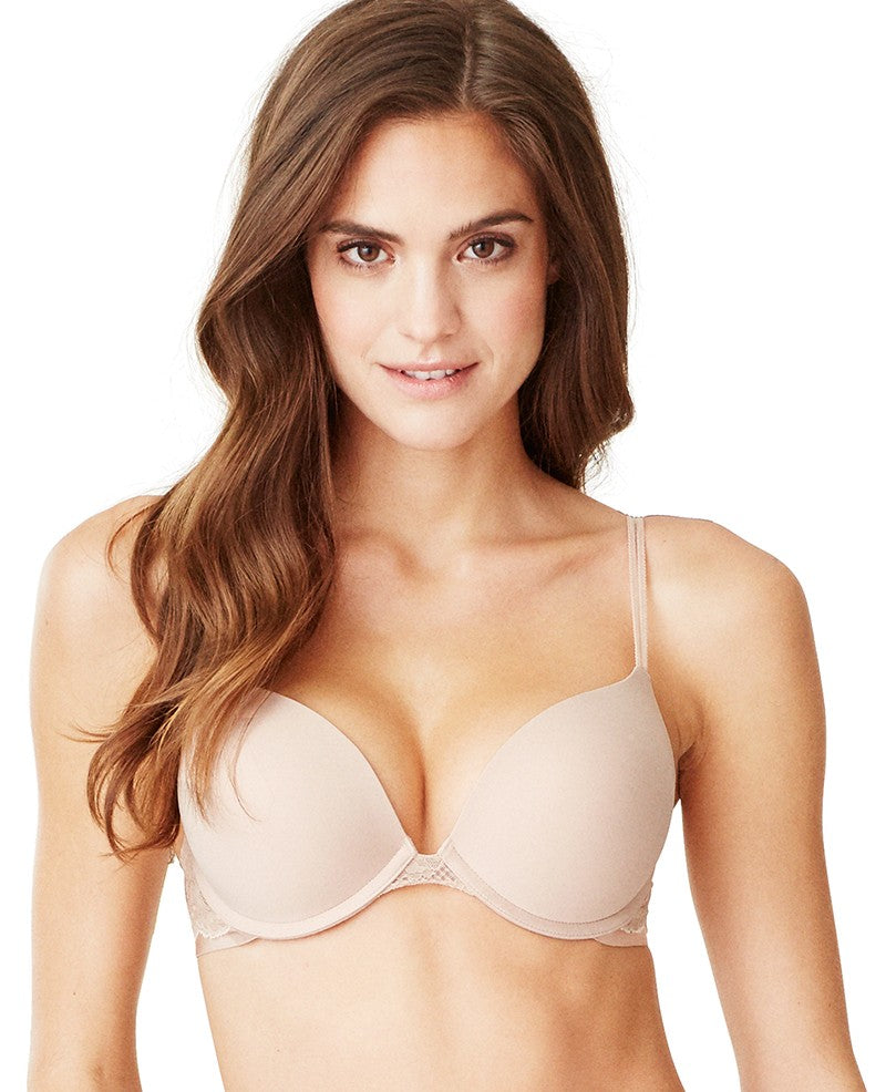 Beautifully Basic Double Bump Bra - Champagne