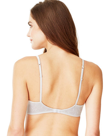 Cabana Cotton Modal Wire-Free Bra - Light Grey Heather