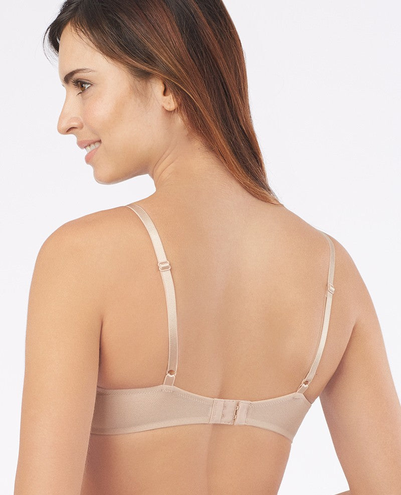 Bare Illusion Unlined Bra  - Champagne