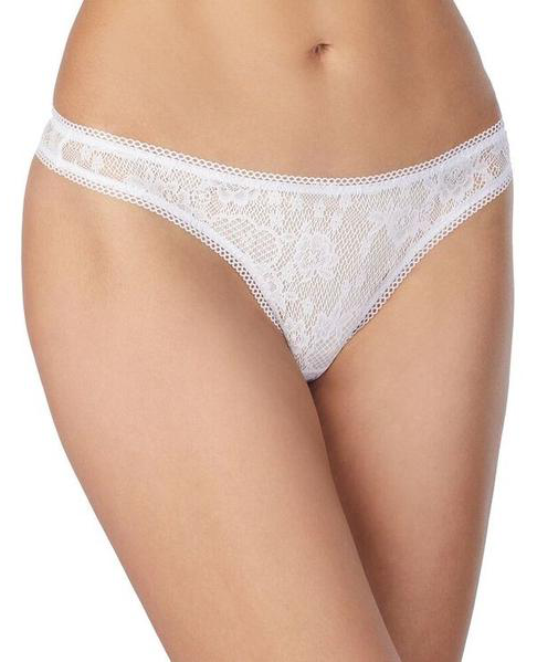 Racy Lace Hip G Thong - White