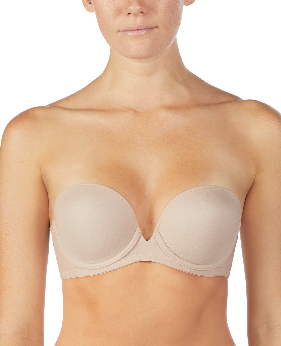 Next to Nothing Plunge Strapless - Champagne