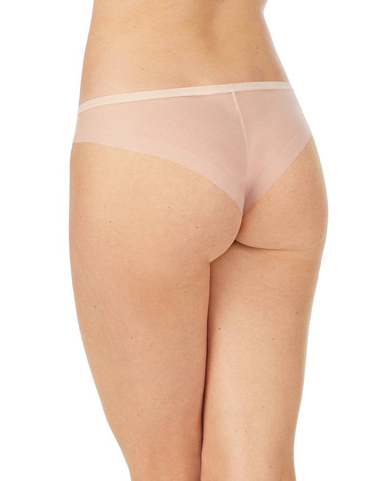 Sheer Bliss Tanga - Champagne