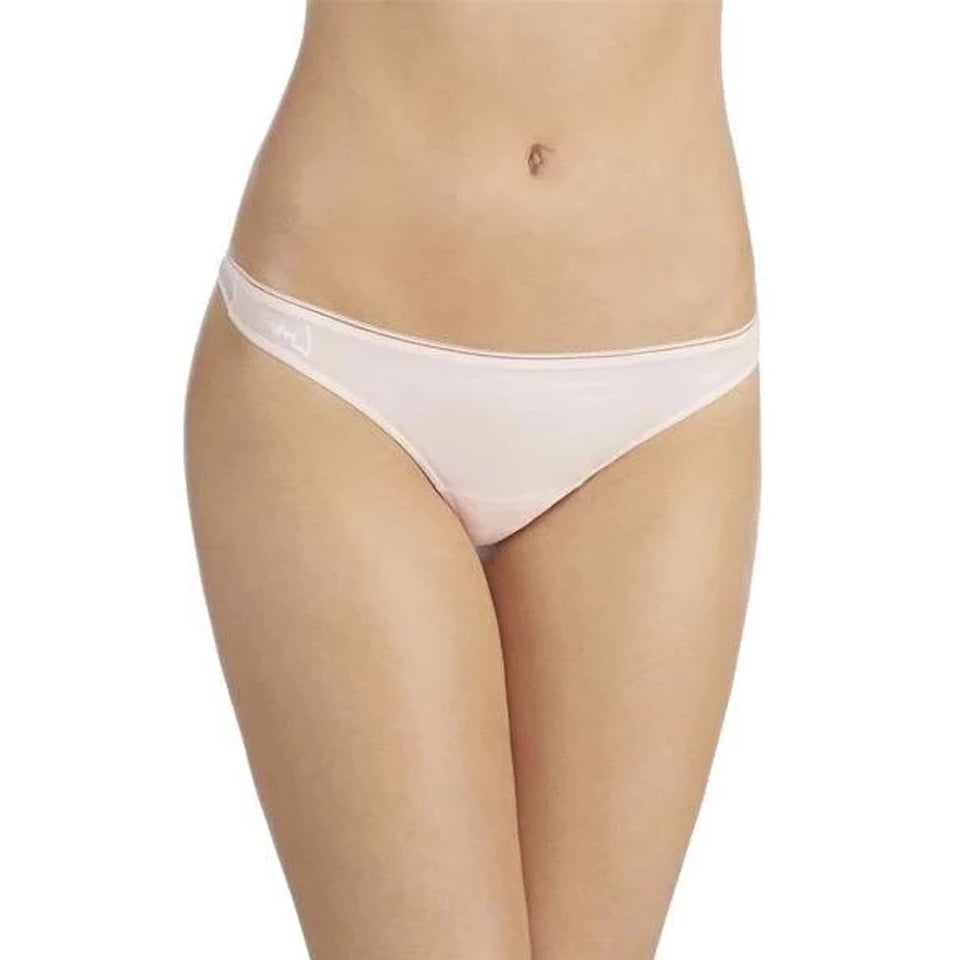 Sleek & Sheer Bridal Thong - Blush