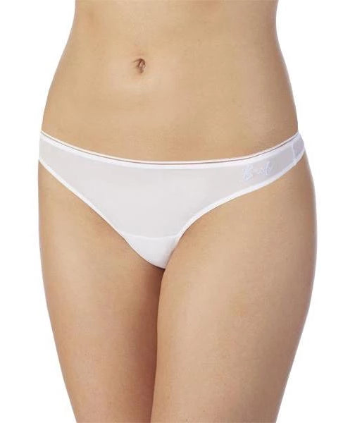 Sleek & Sheer Bridal Thong - White