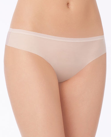 Beautifully Basic Clean Cut Thong - Champagne