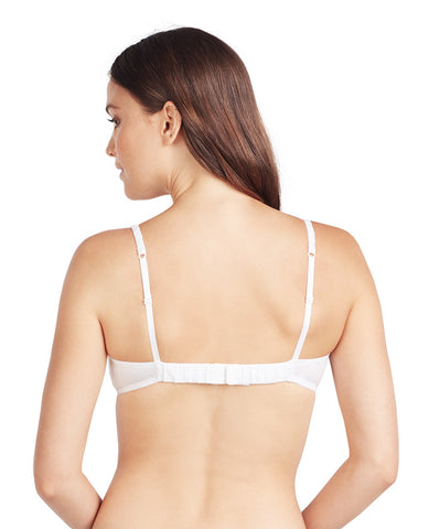 Cabana Cotton Bralette - White