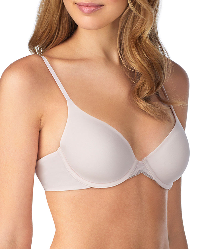 Cabana Cotton Convertible T-Shirt Bra - Mauve Chalk