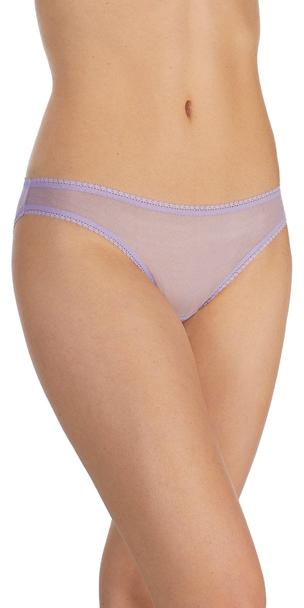 Gossamer Mesh Hip Bikini - Heirloom Lilac
