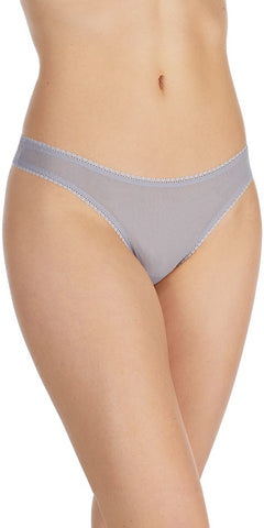 Gossamer Mesh Hip G Thong - Shadow