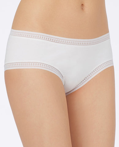 Cabana Cotton Boyshort - White