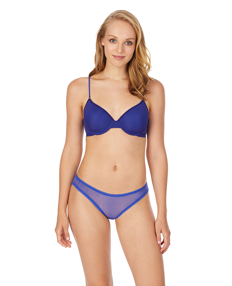 Next to Nothing Micro T-Shirt Bra - Spectrum Blue