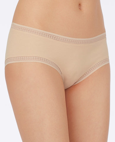Cabana Cotton Boyshort - Champagne