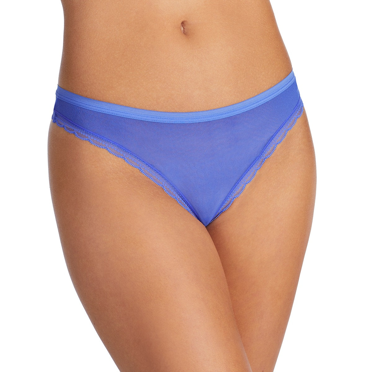 Next to Nothing Hip G Thong - Blue Dahlia