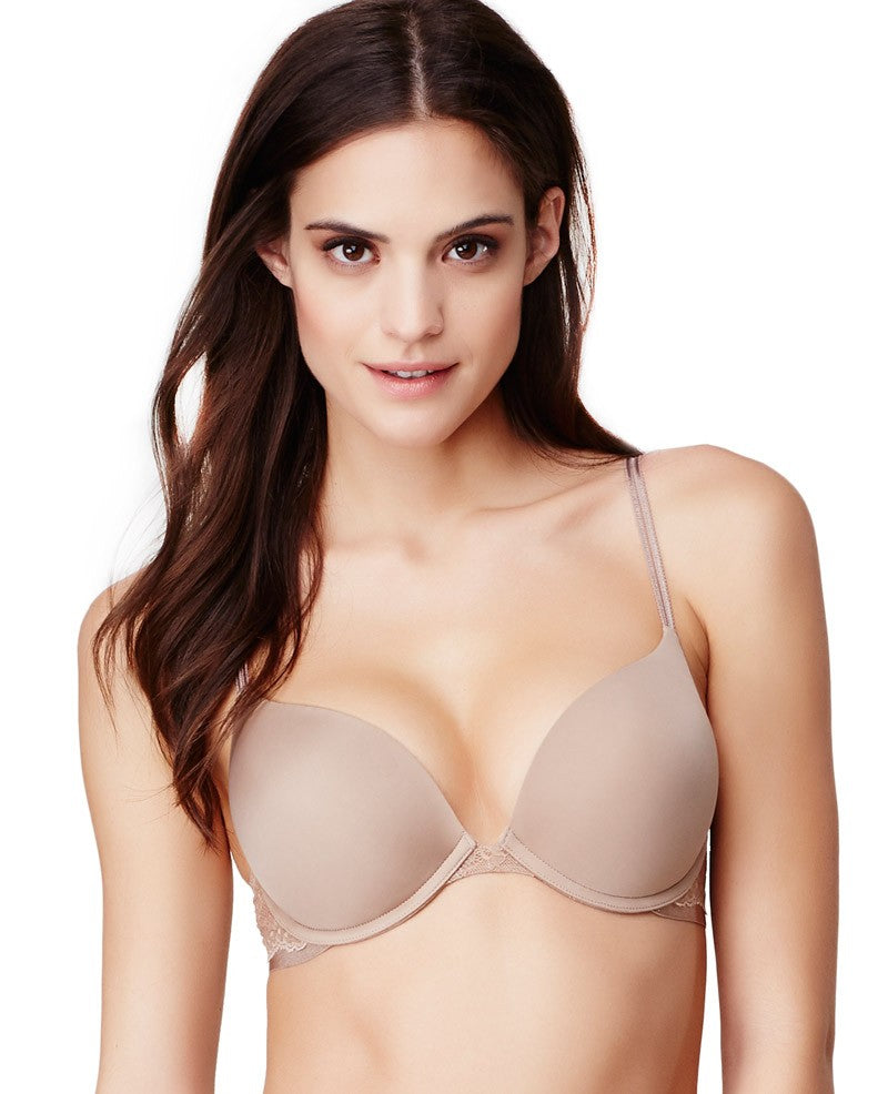 Beautifully Basic Double Bump Bra - Mocha