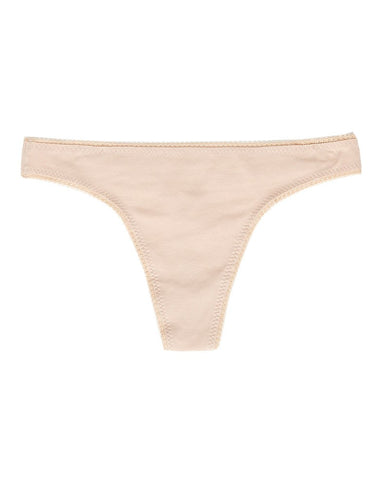 Cabana Cotton Hip G Thong - Champagne