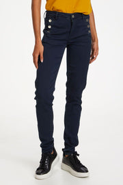 Navy Frlomax Trousers