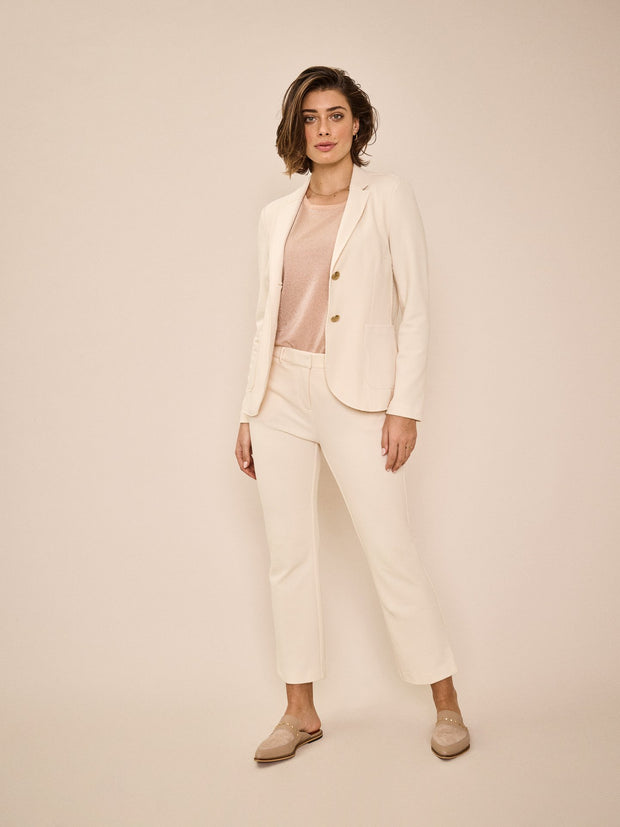 Belle Pique Cropped Trousers