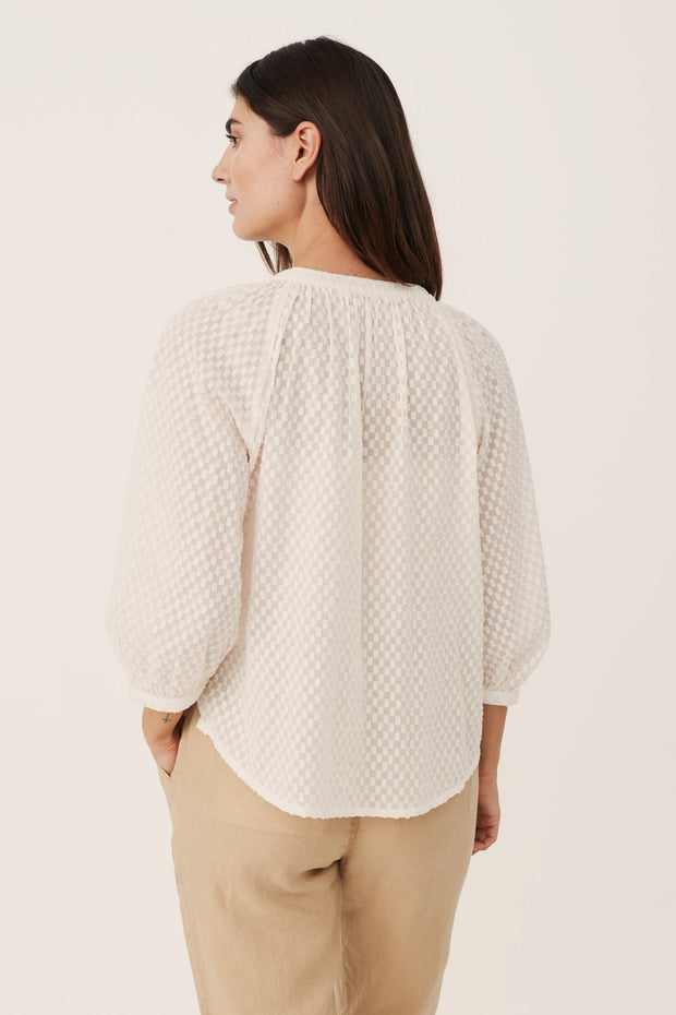 Erdonae Blouse in Eggnog