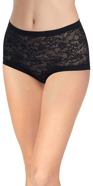 Lace Perfection Brief – Black