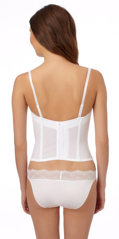 Bridal Seduction Bustier - White