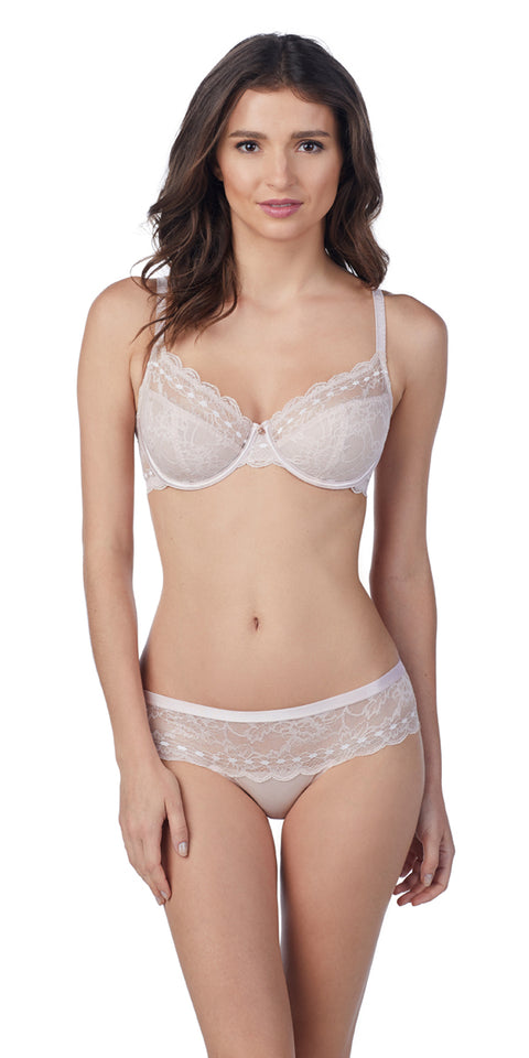 Light Luxury Cut & Sew Bra - Shell